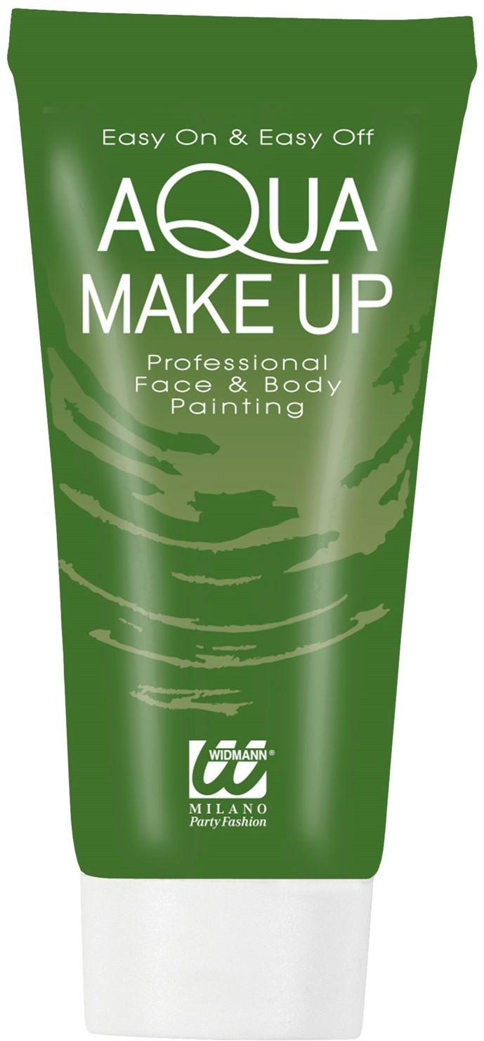 Groene waterbasis make-up tube