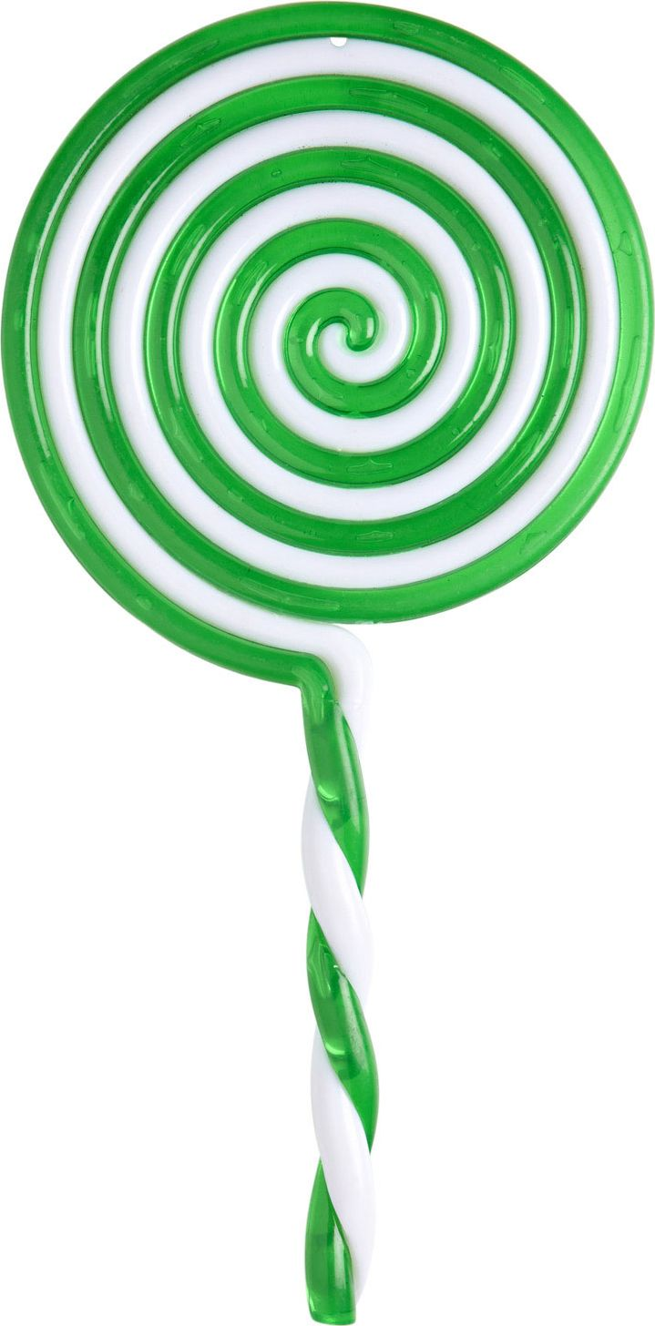 Grote groene lolly