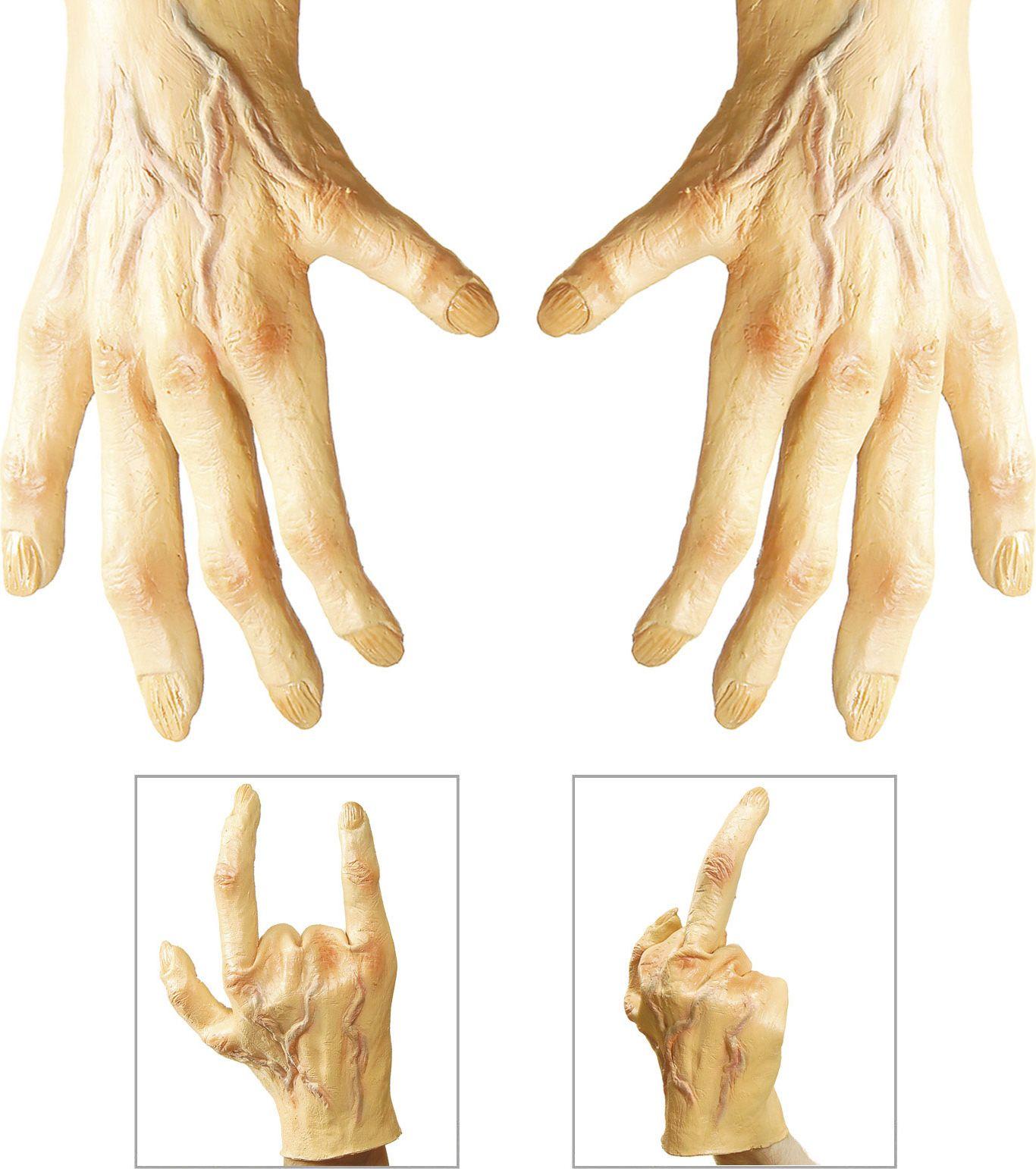Grote handen