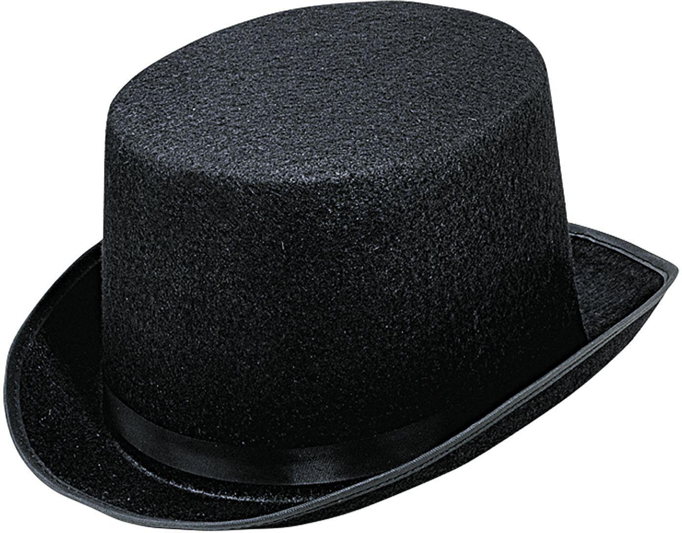 Grote hoge hoed zwart