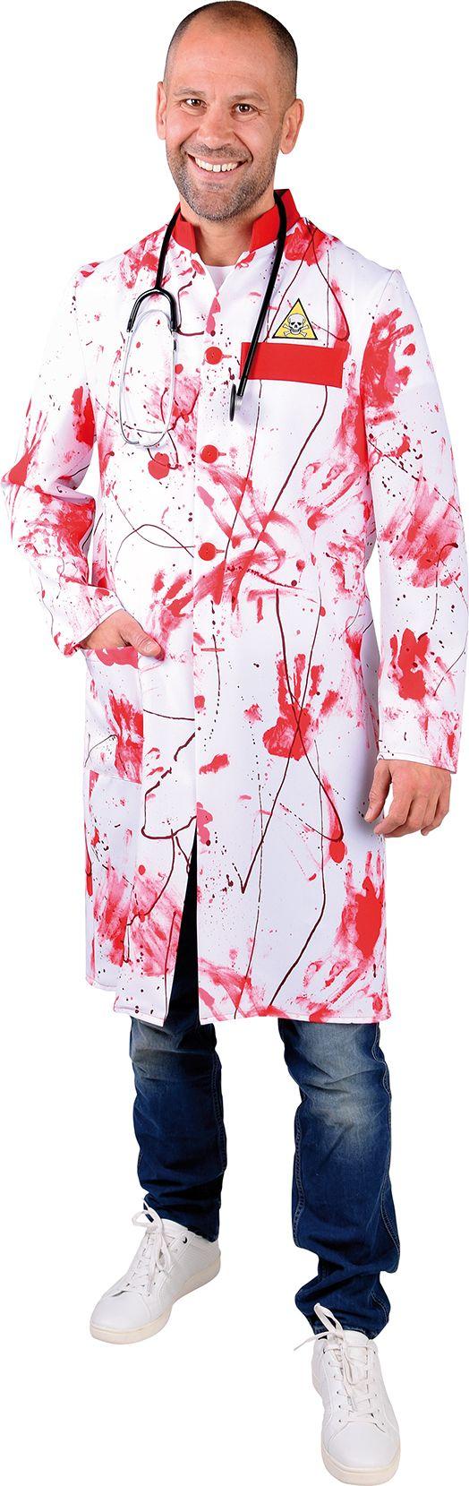Halloween doktersjas heren