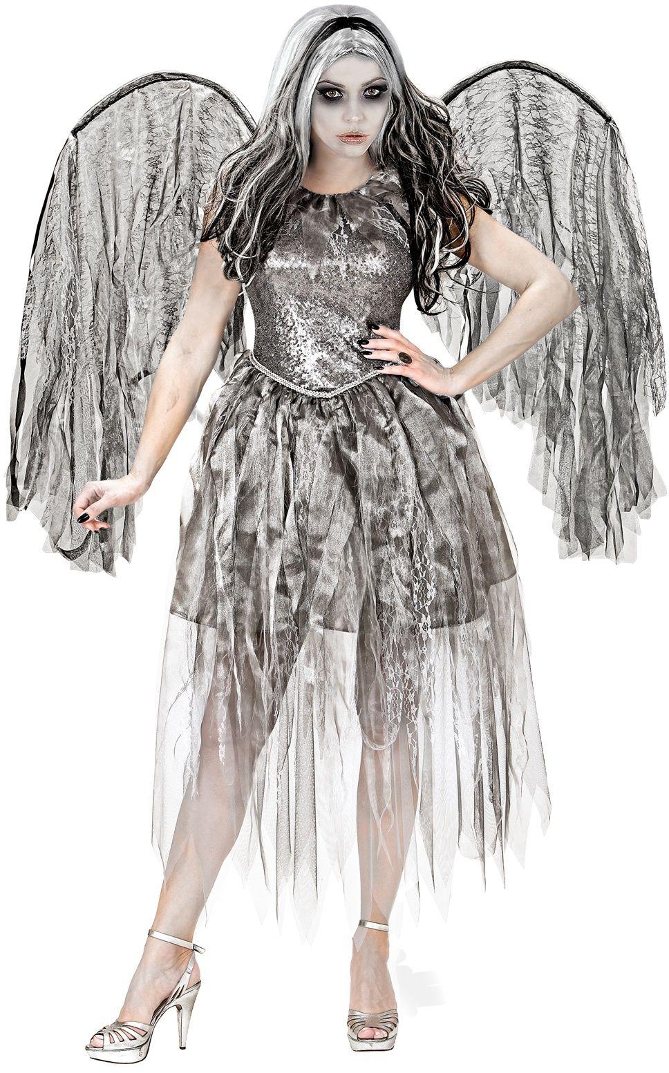 Halloween engel jurk
