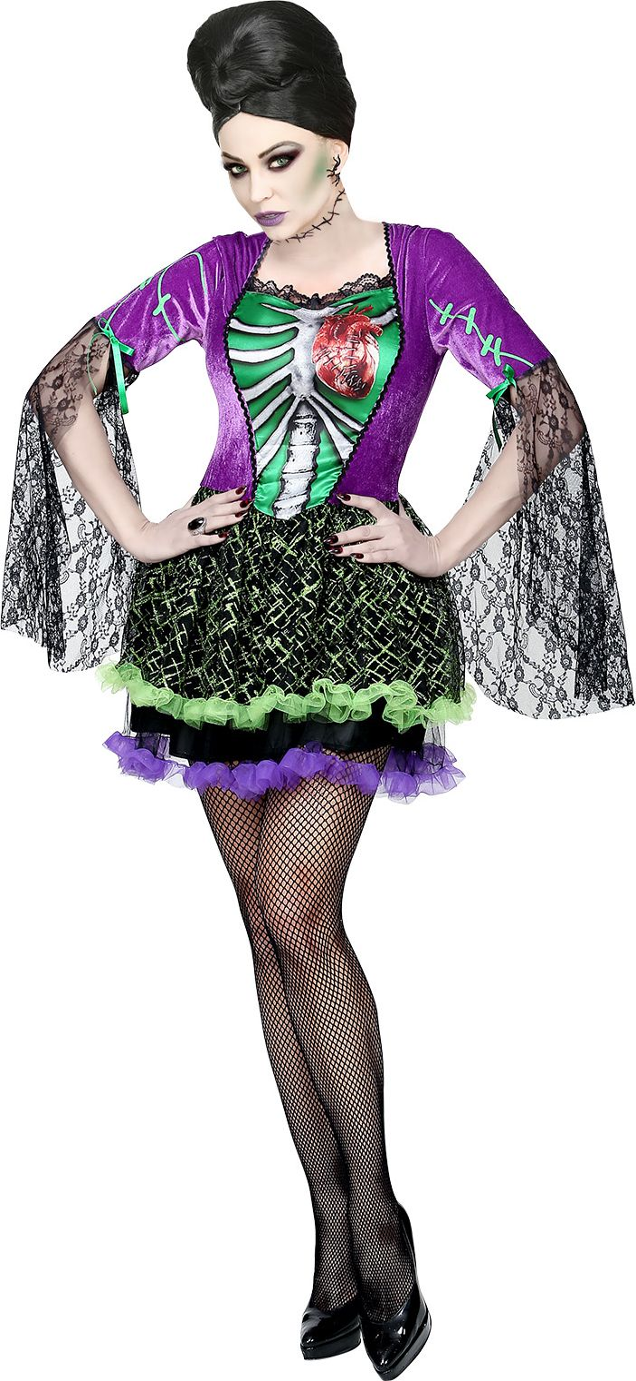 Halloween gothic jurk vrouw