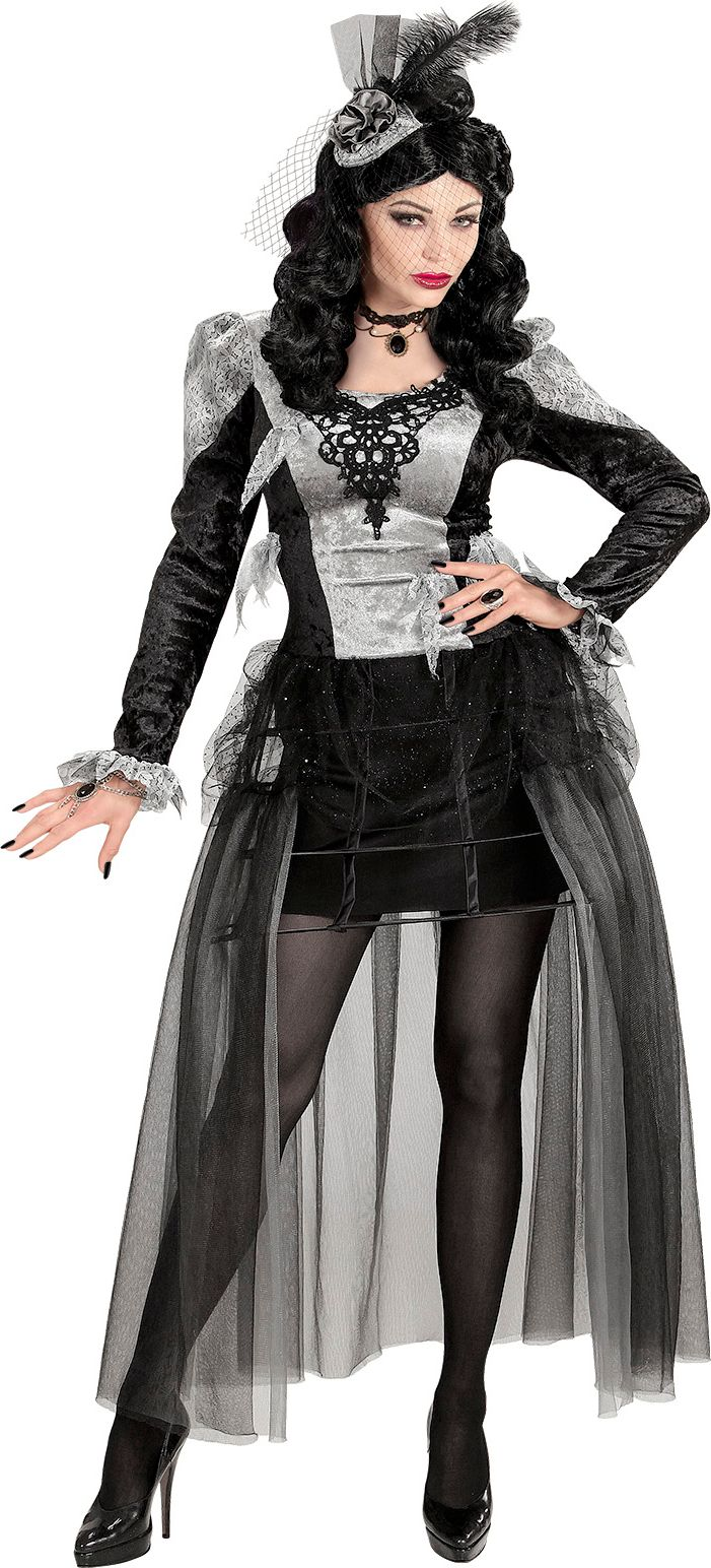 Halloween gravin jurk