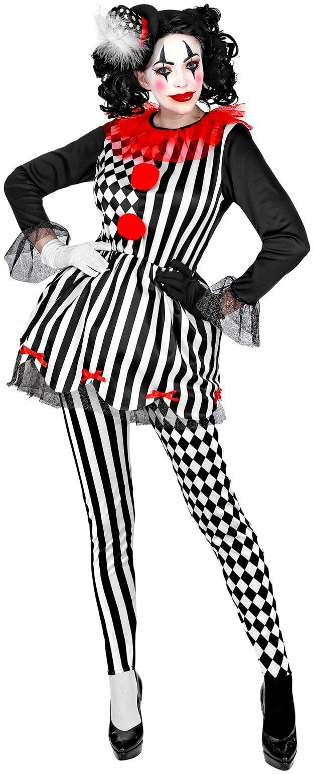 Halloween Harlekijn dames