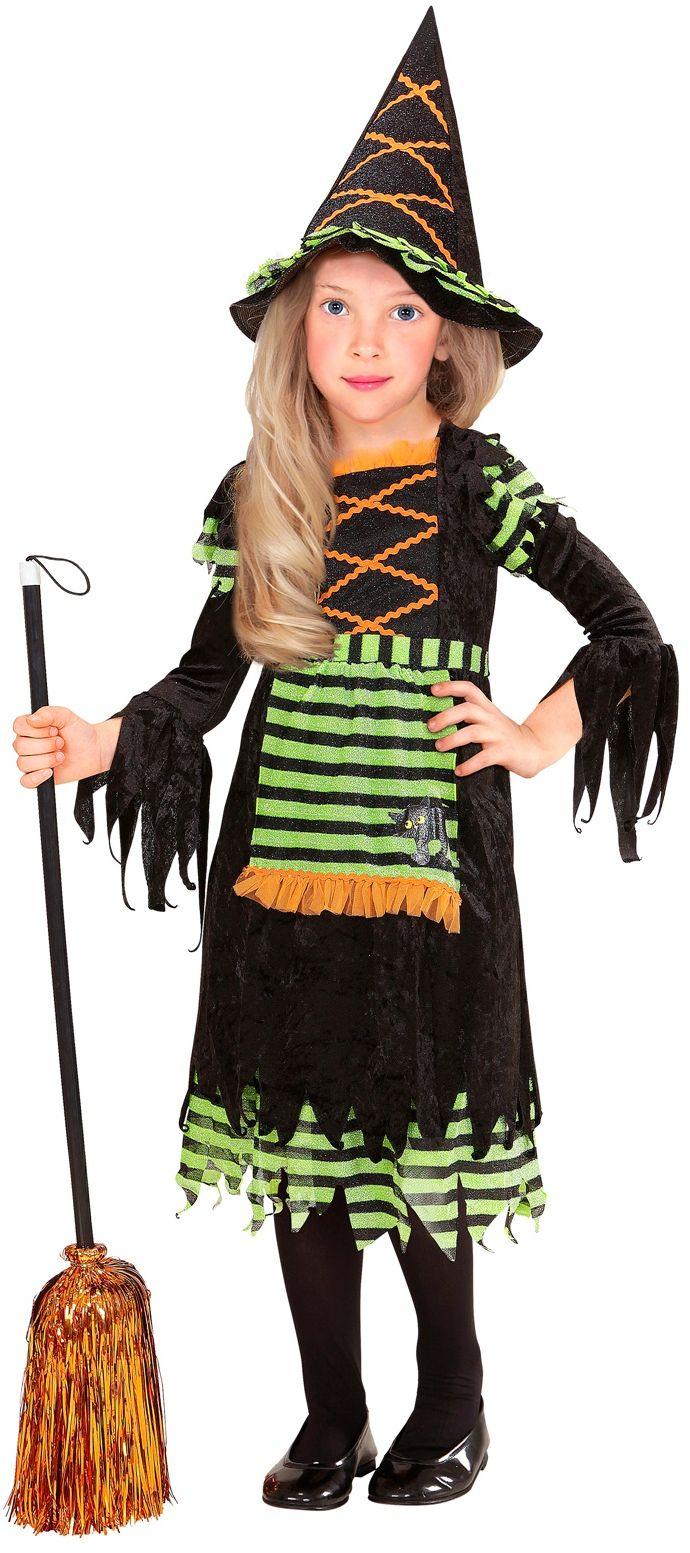 Halloween heksen kind