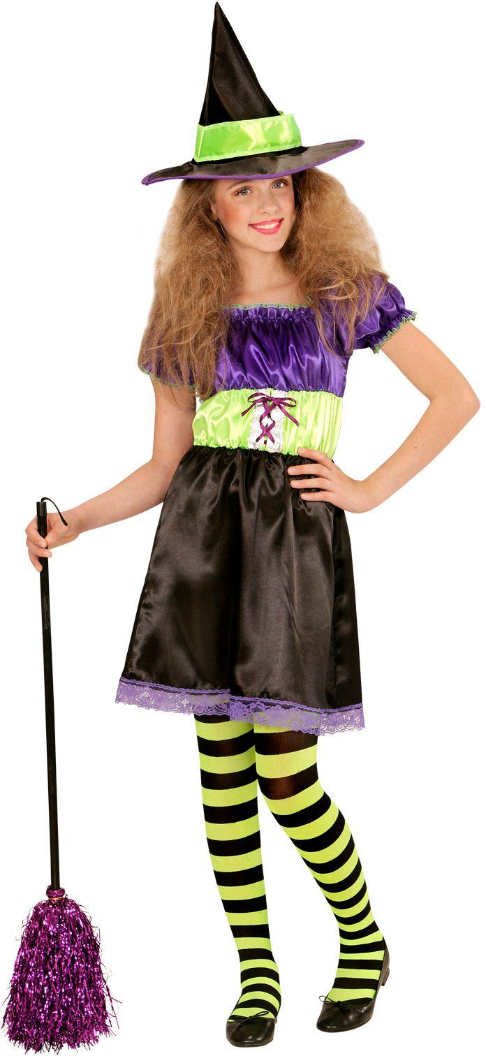 Halloween heksen kostuum kind