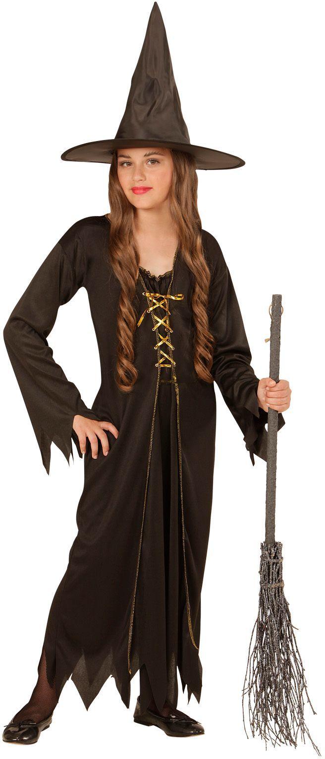 Halloween heksenjurk kind