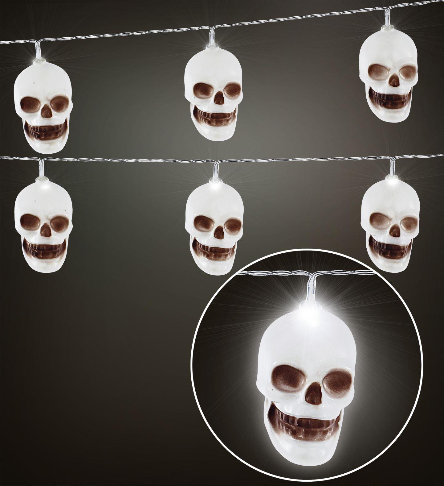 Halloween lampjes doodskop