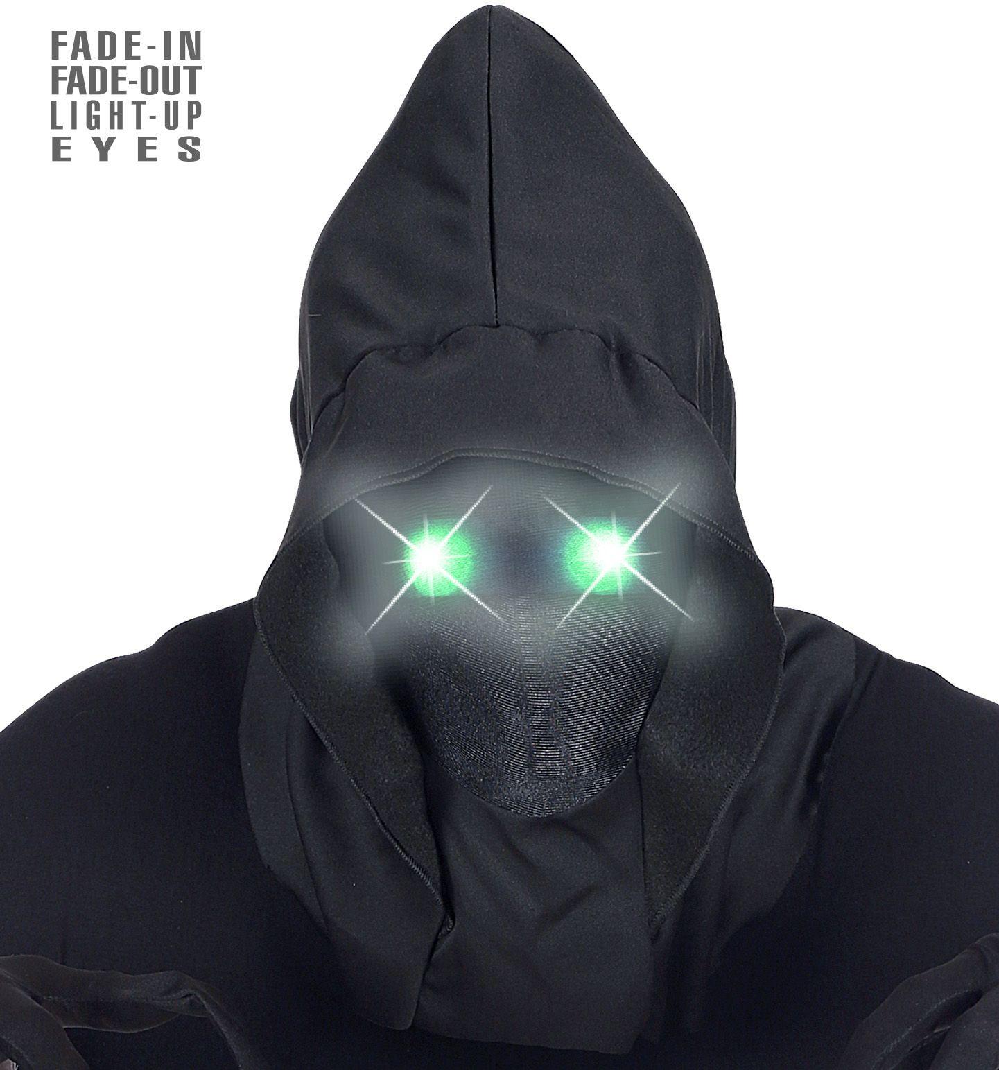 Halloween masker groene ogen mannen