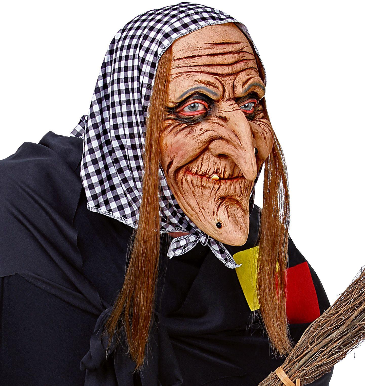 Halloween masker heks
