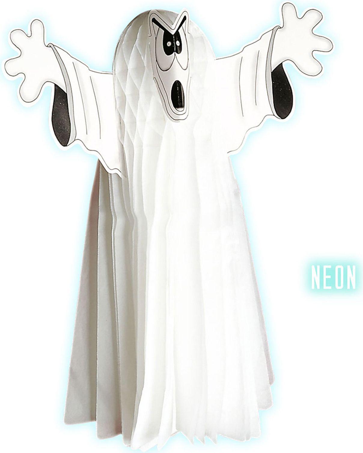 Halloween papieren neon geest