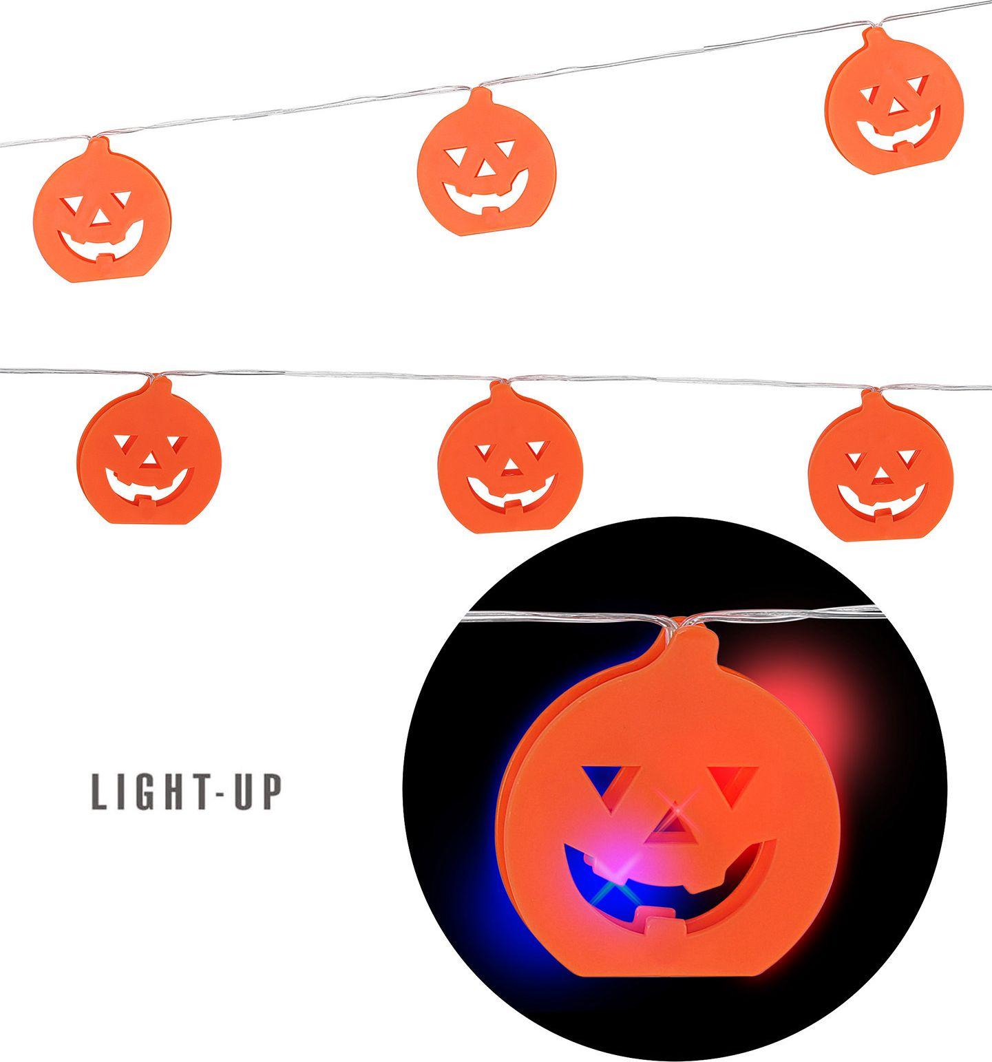 Halloween pompoen lampjes