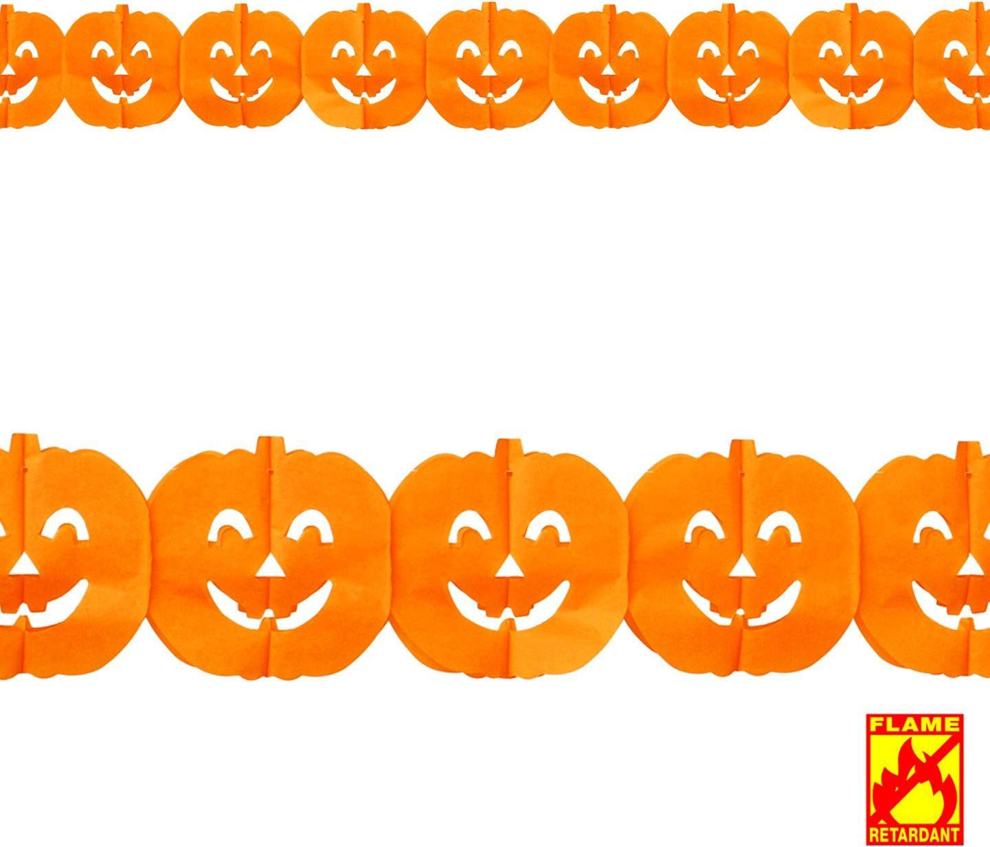 Halloween pompoen slinger