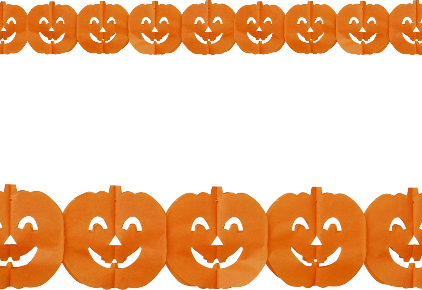 Halloween pompoenen slinger
