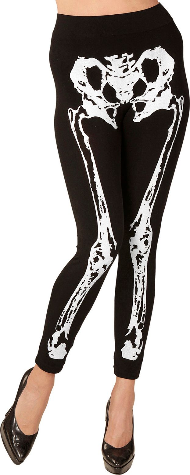 Halloween skelet legging