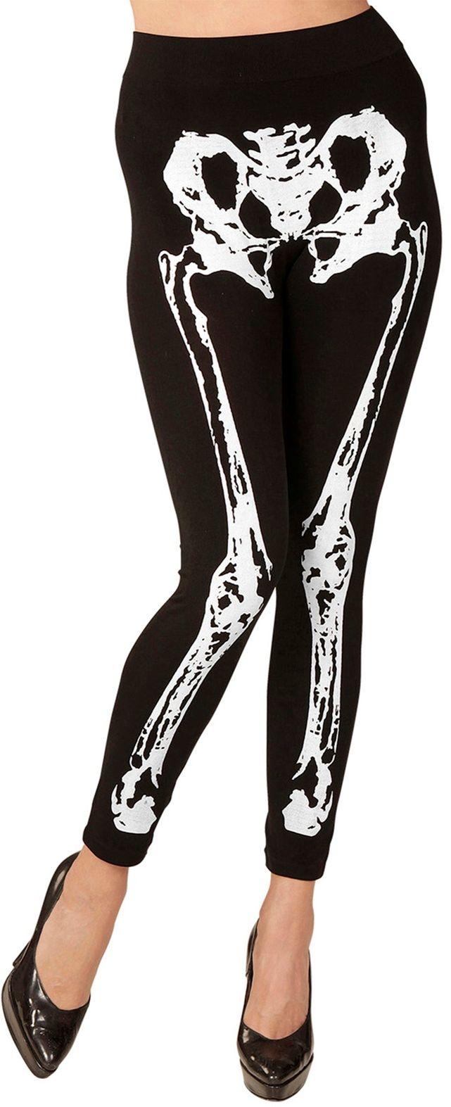 Halloween skelet legging
