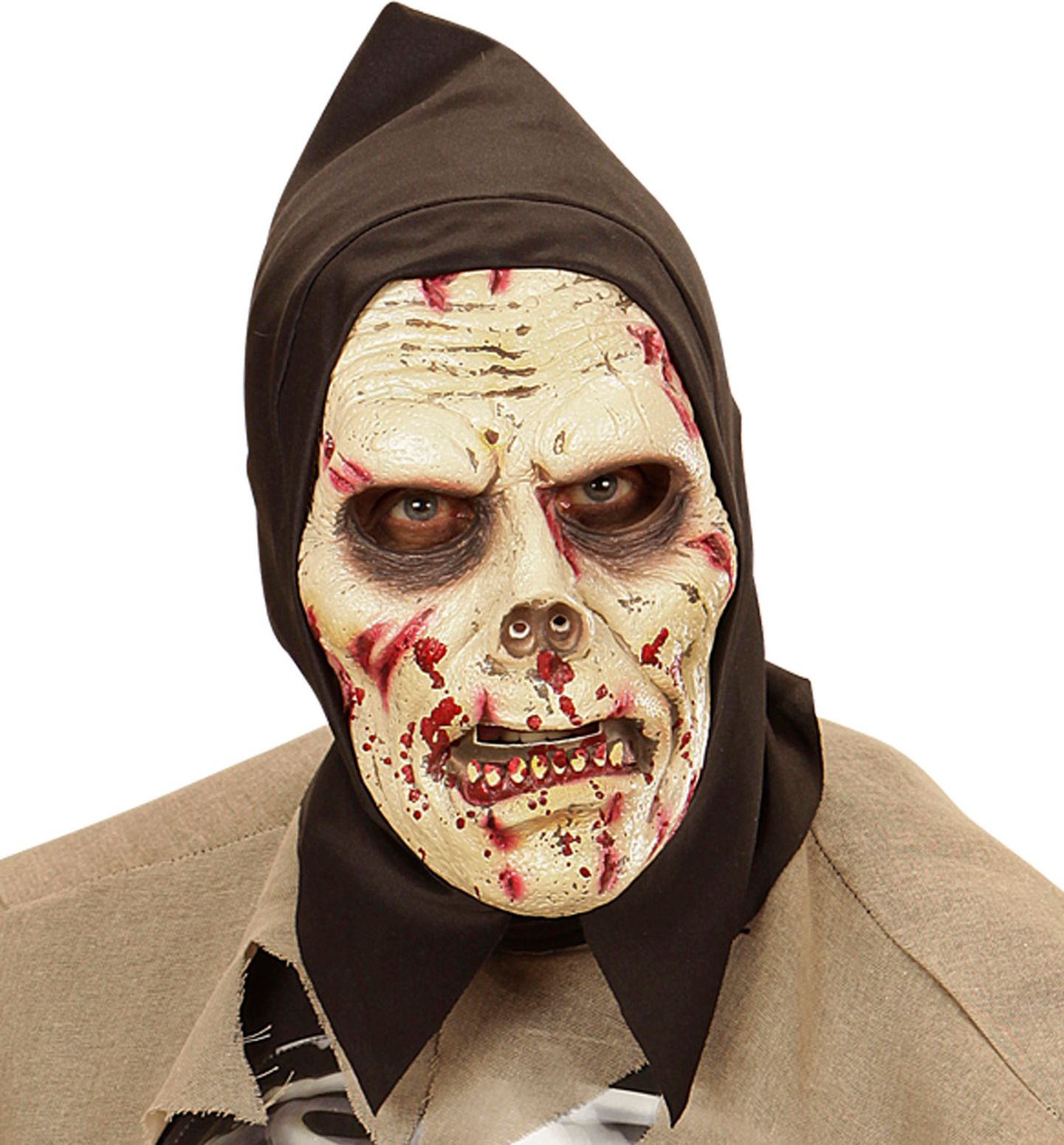 Halloween skelet masker kind