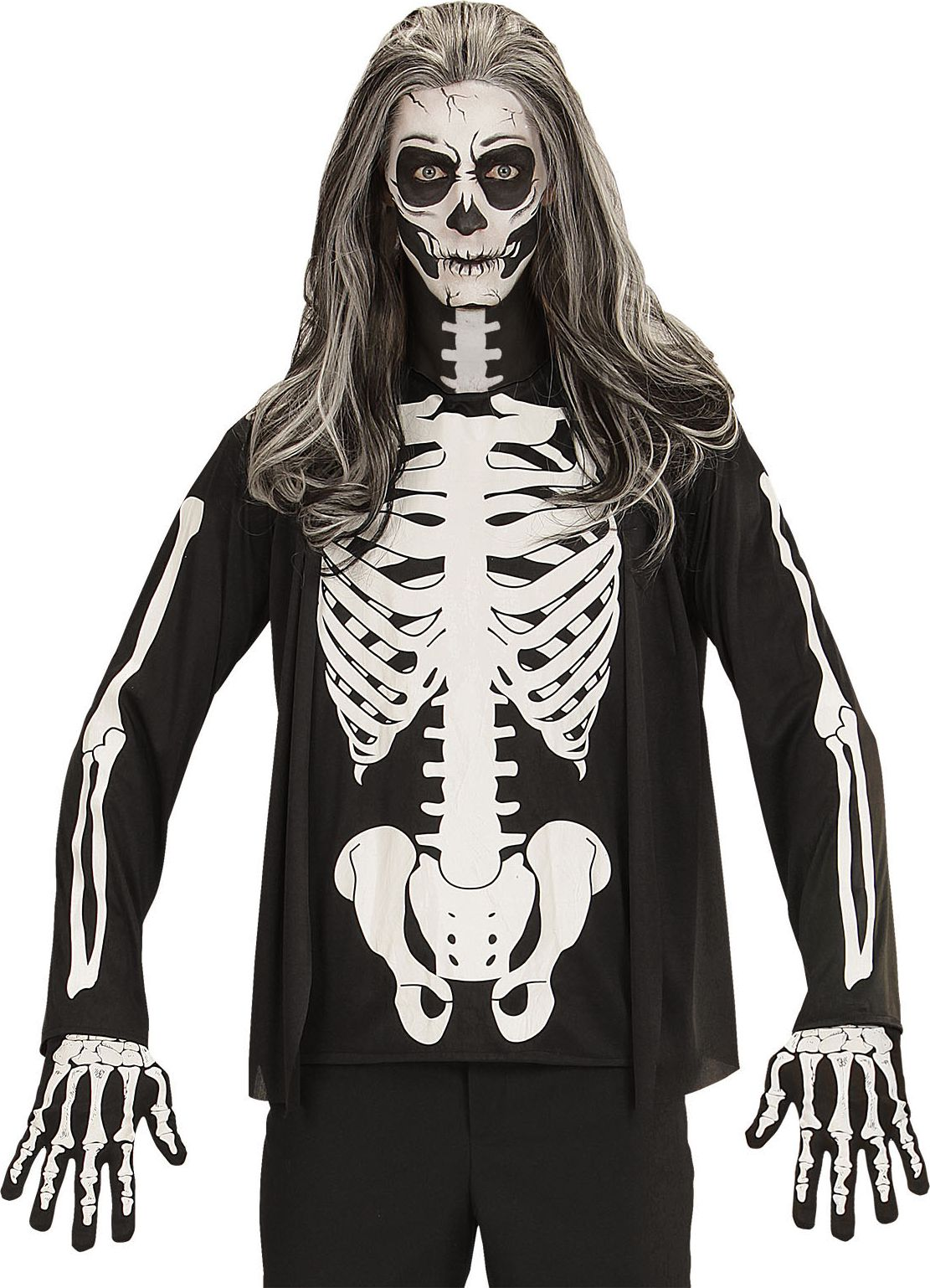Halloween skelet shirt