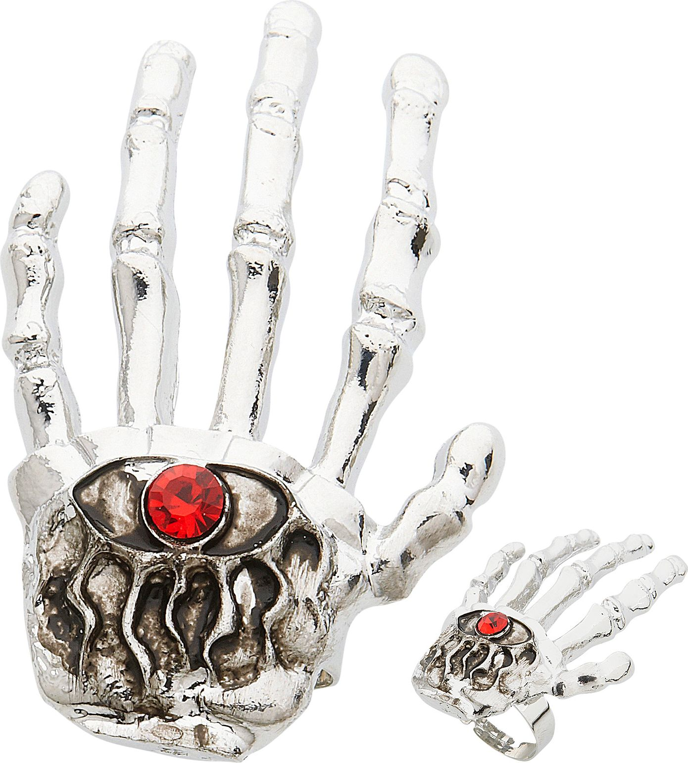 Halloween skelethand ring