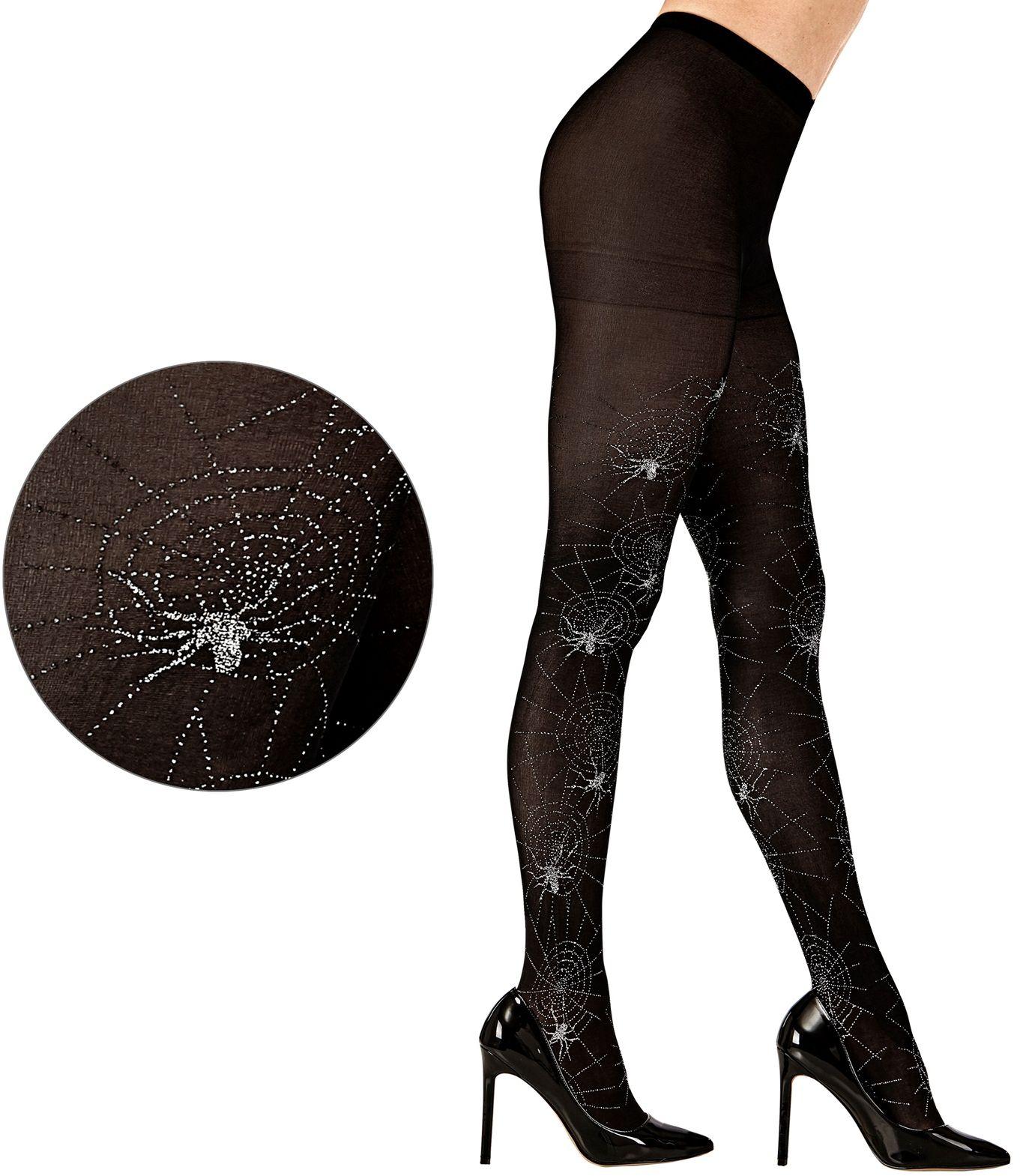 Halloween spinnen panty