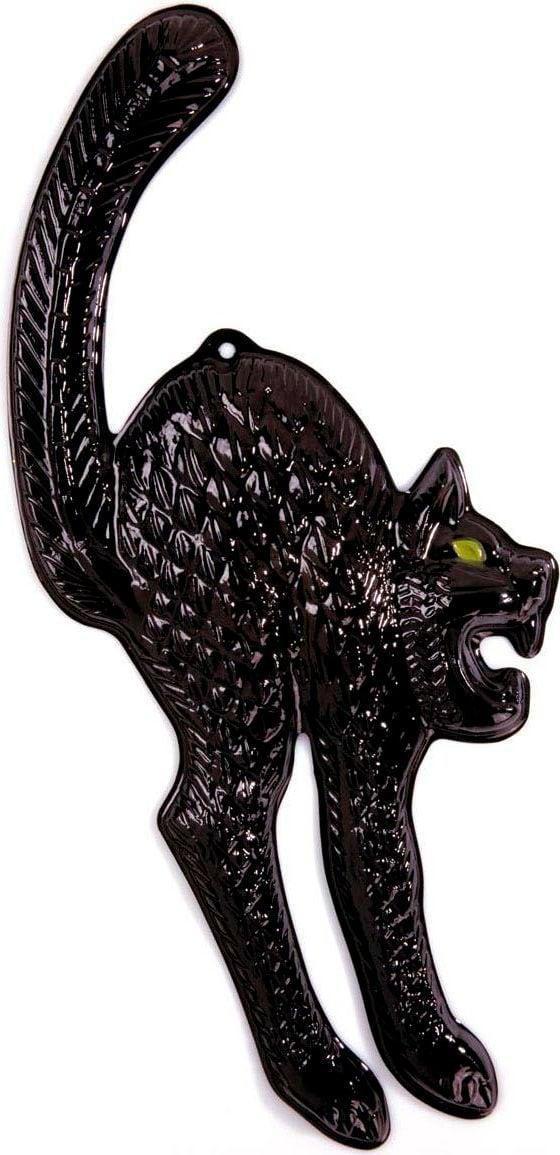 Halloween zwarte kat decoratie