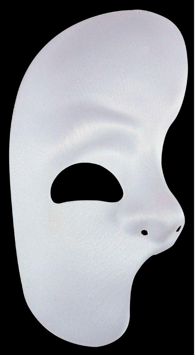 Halve spook oogmasker