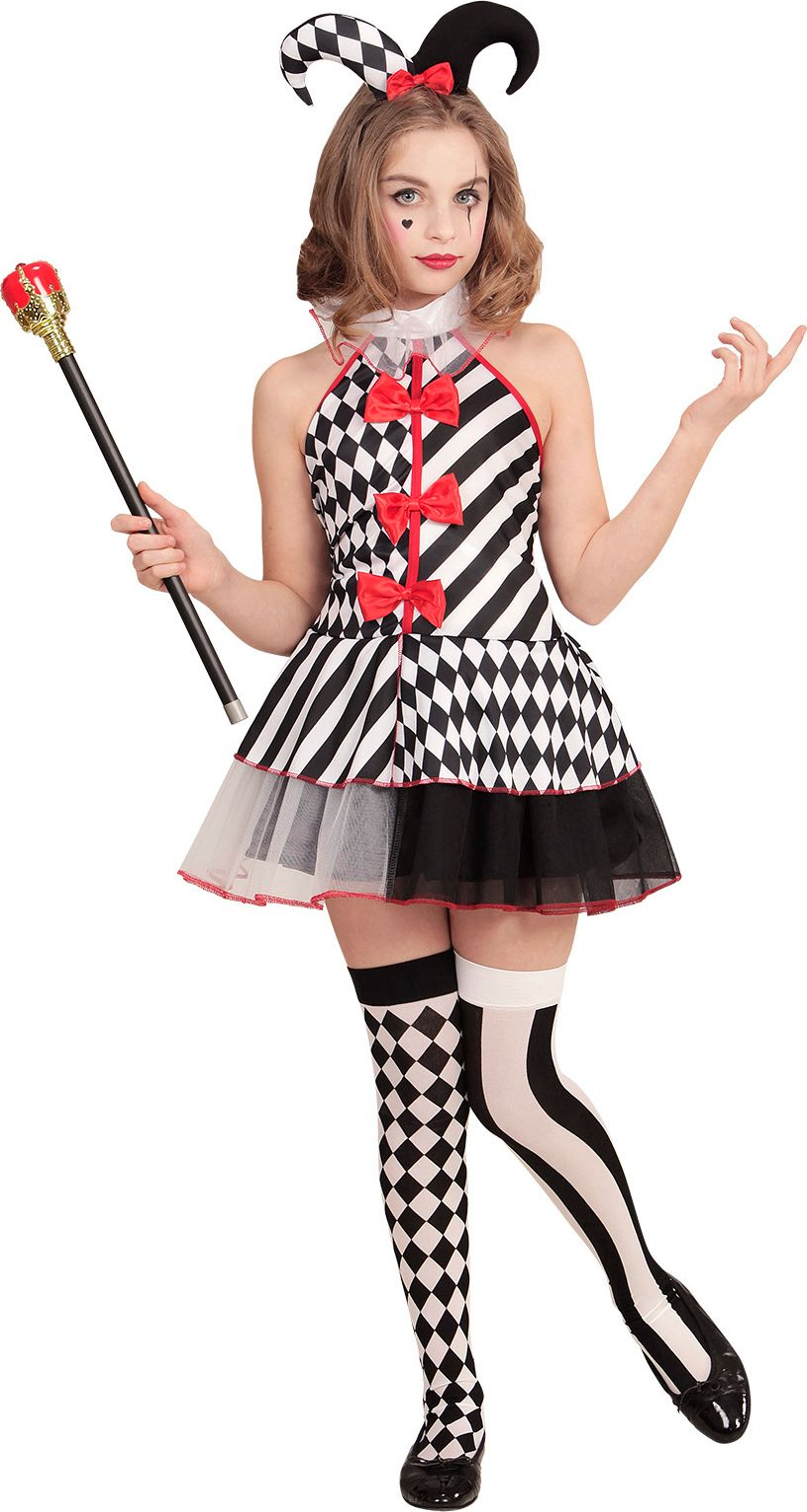 Harlequin jurk meisjes