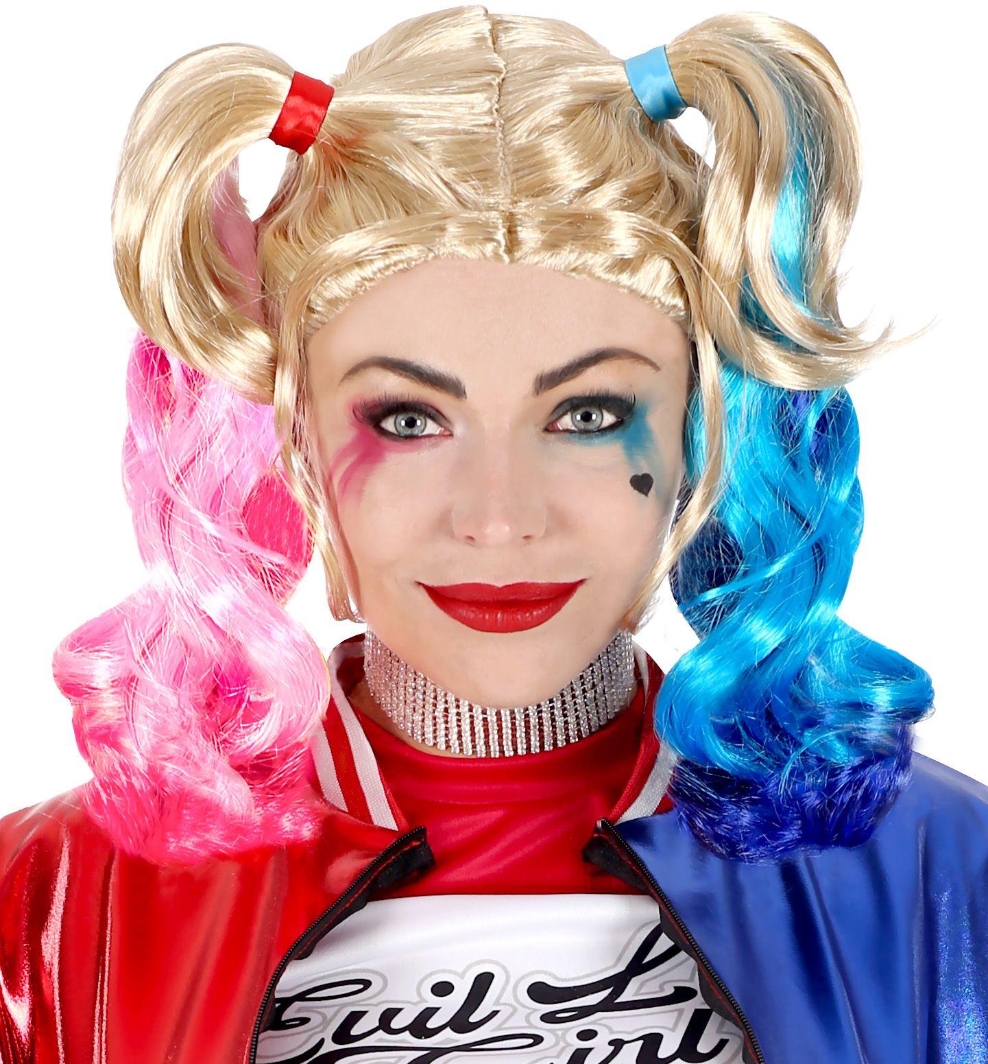 Harley Quinn pruik batman vrouwen