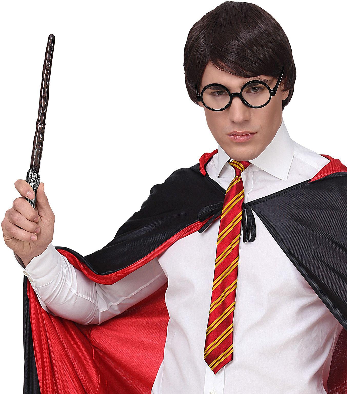 Harry Potter toverstok, stropdas en bril