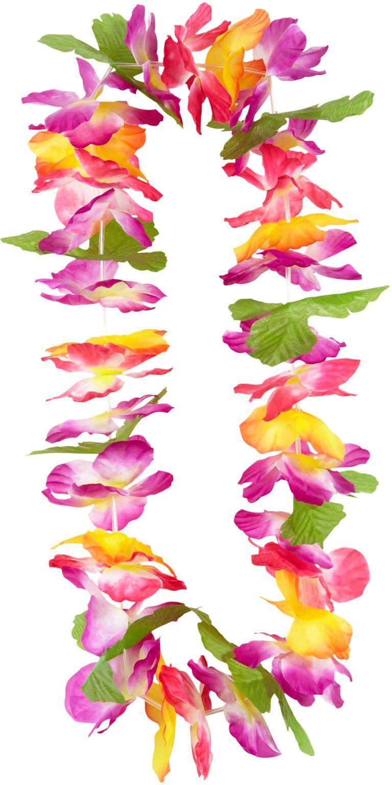 Hawaiiaanse bloemen slinger