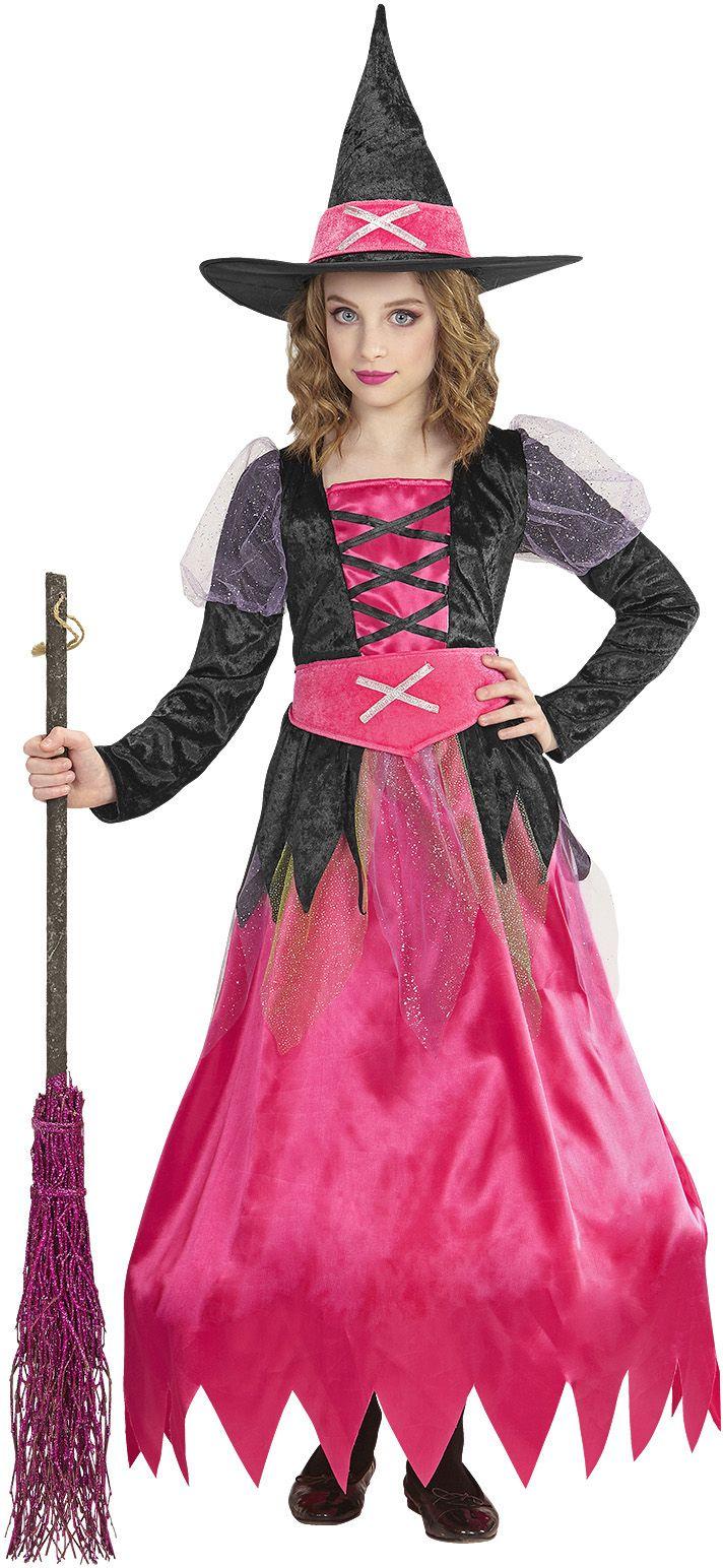 Heksen carnaval jurk kind