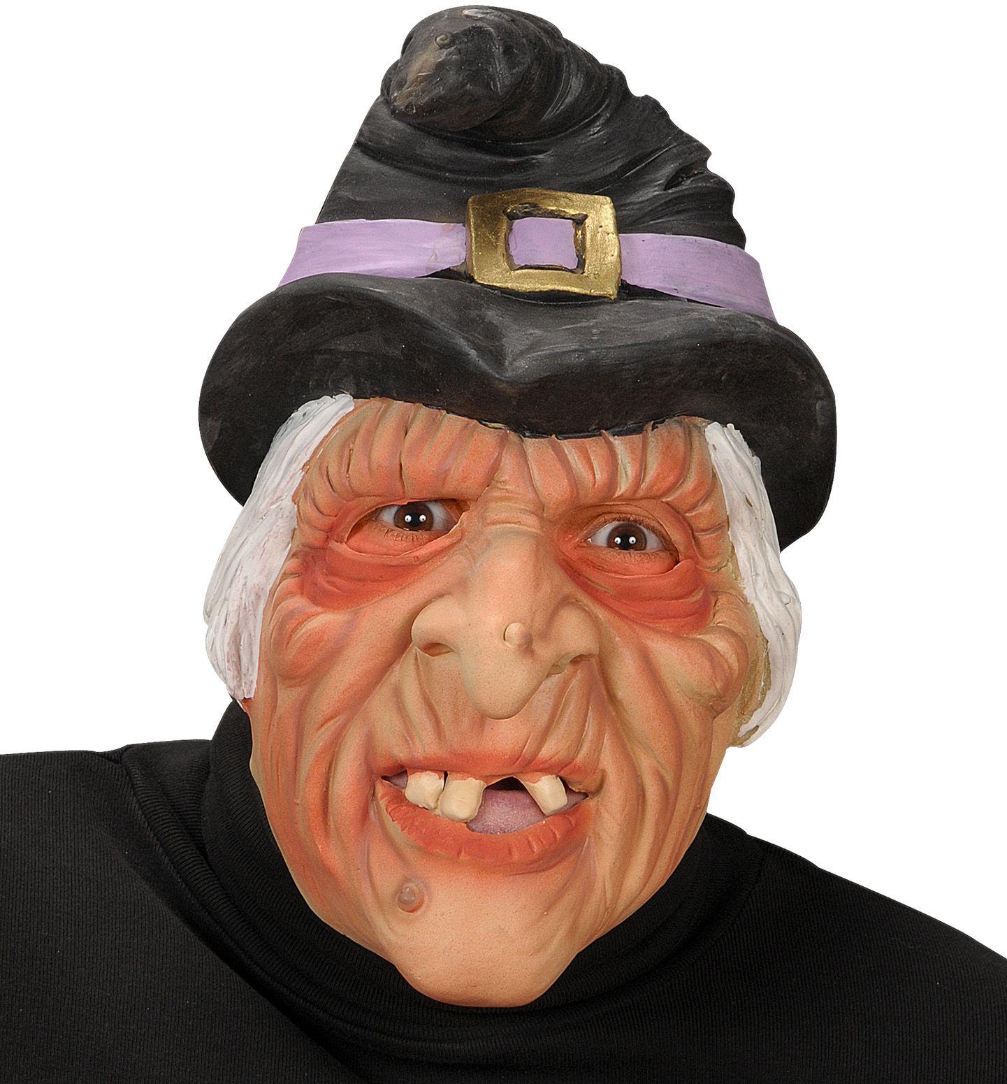 Heksen gezichtsmasker