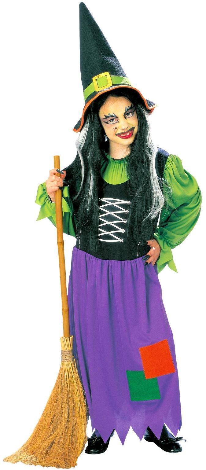 Heksen verkleedkleding kind