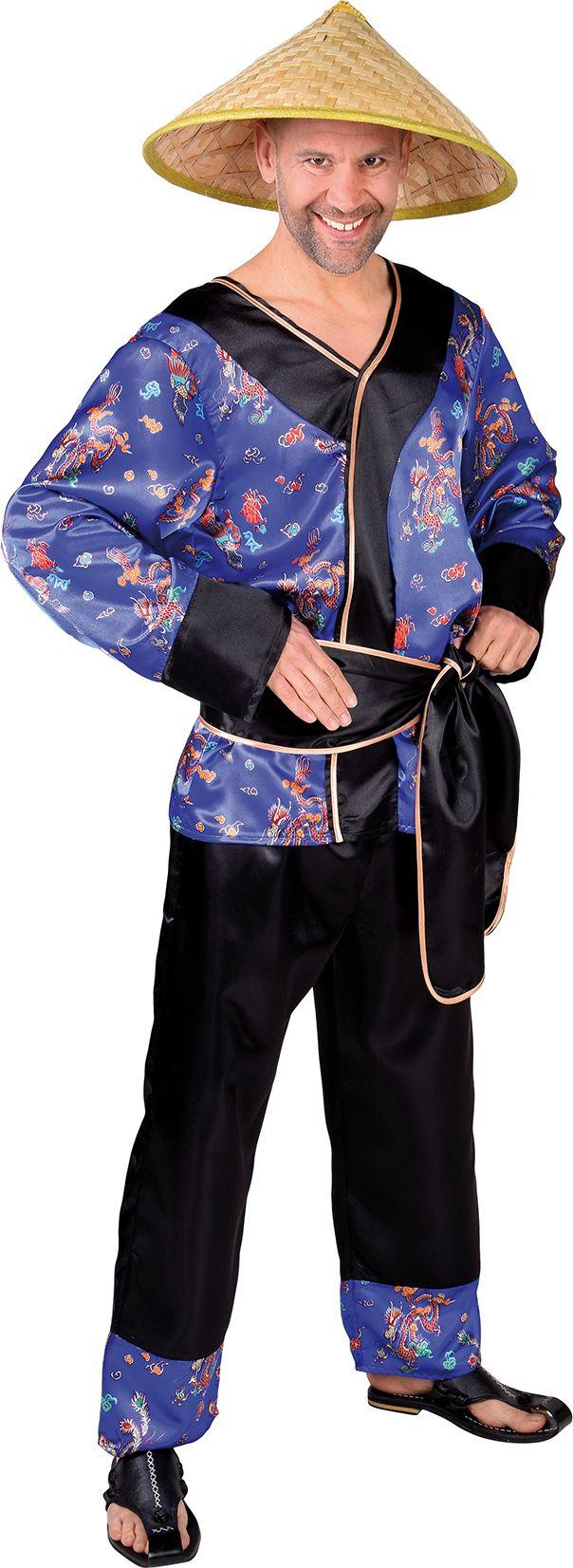 Heren aziatische outfit