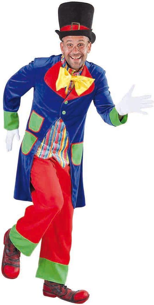Heren kostuum clown