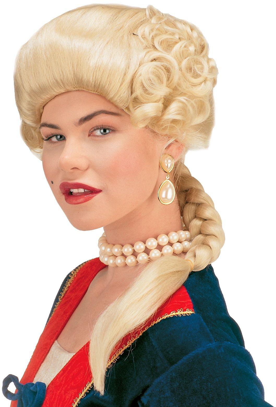 Hertogin pruik blond