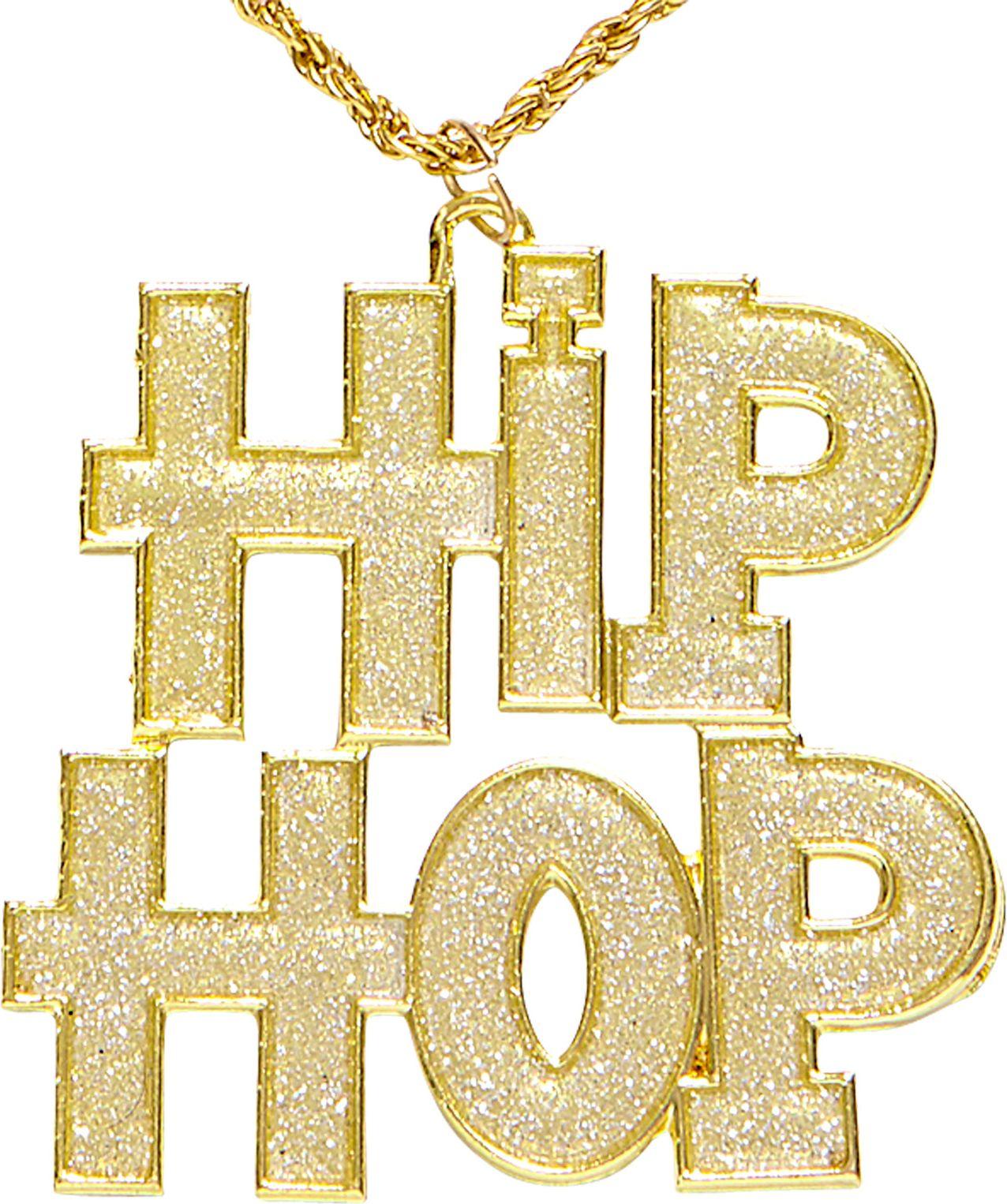 Hip Hop ketting goud