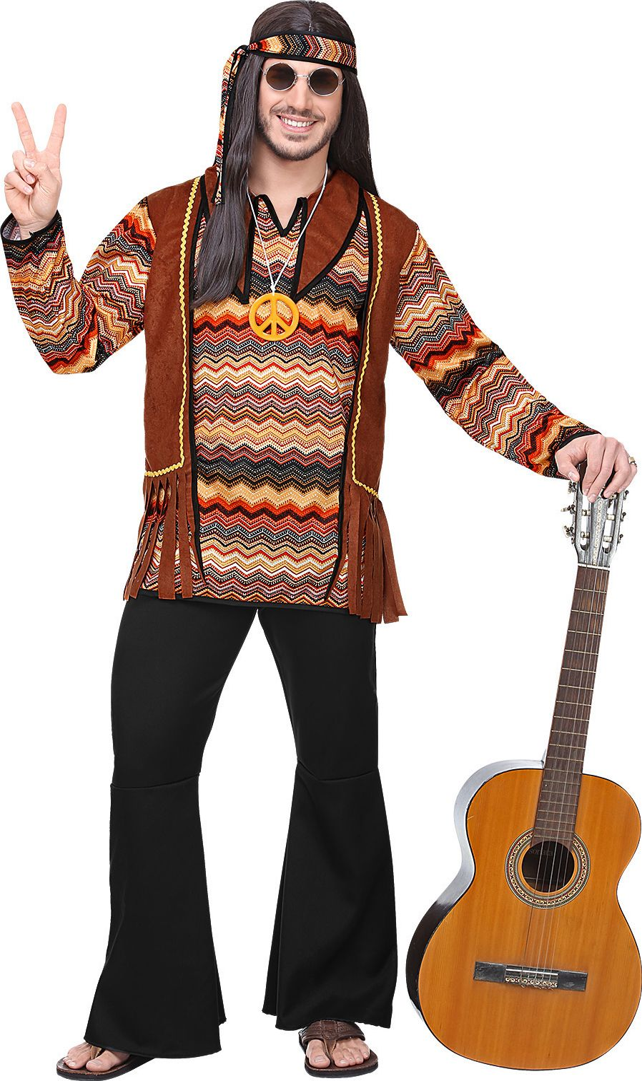 Hippie 60s kostuum