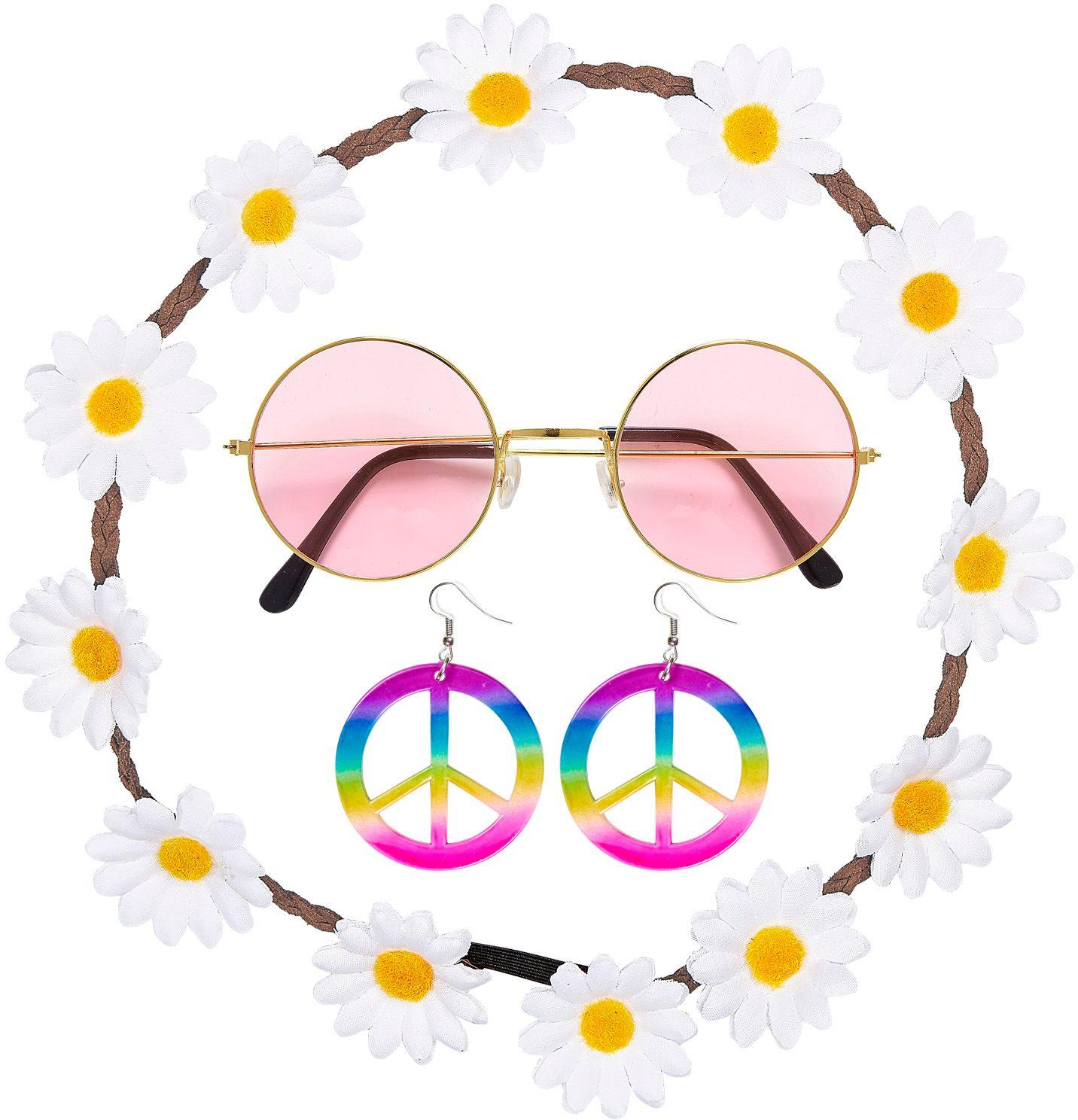 Hippie accessoires set