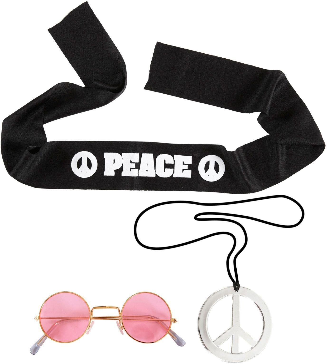 Hippie accessoires setje