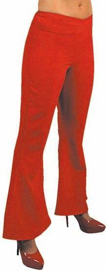 Hippie broek rood vrouwen