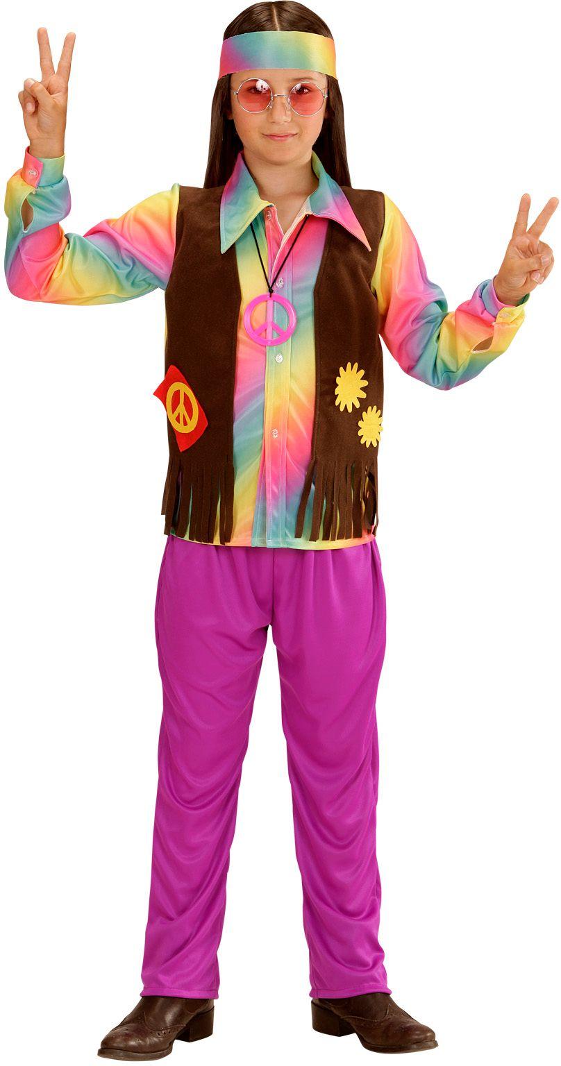 Hippie carnaval jongens