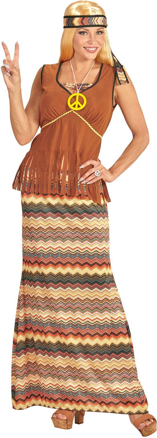 Hippie carnaval kleding dames