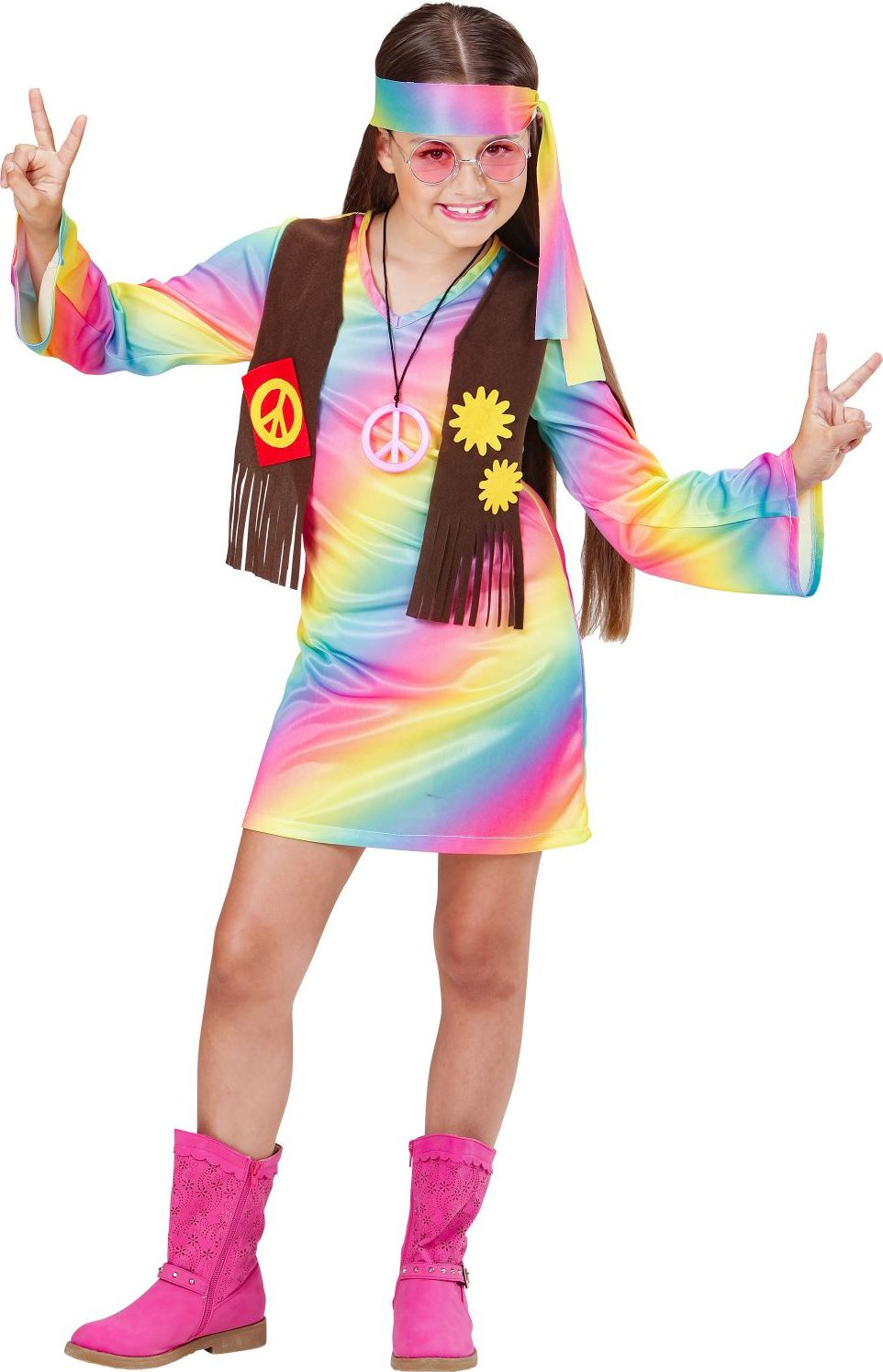Hippie carnaval meisjes