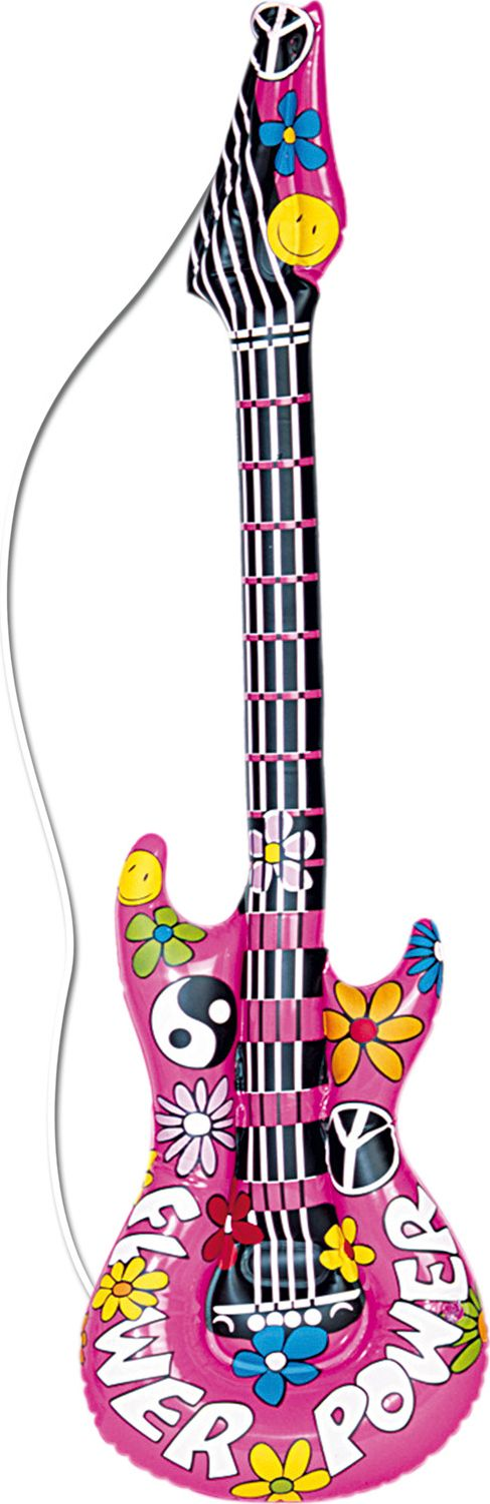 Hippie gitaar opblaasbaar