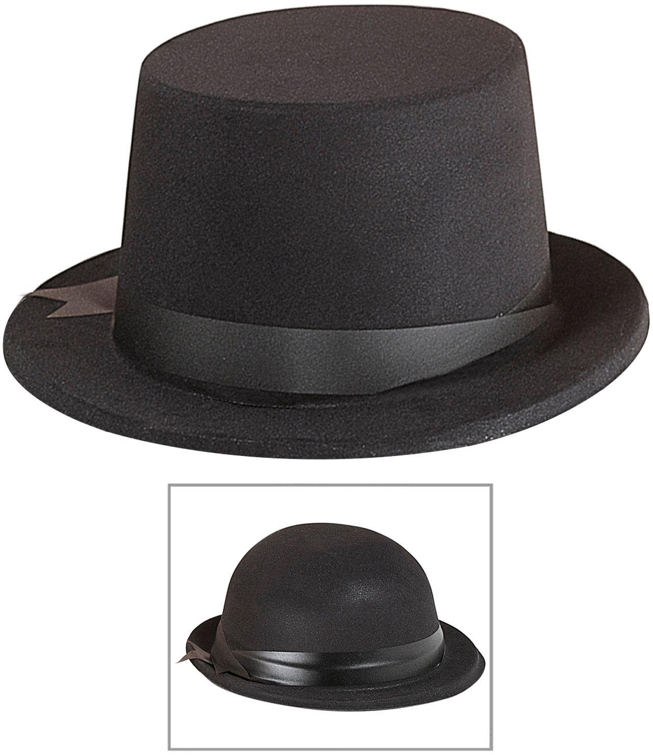 Hoge hoed en bolhoed