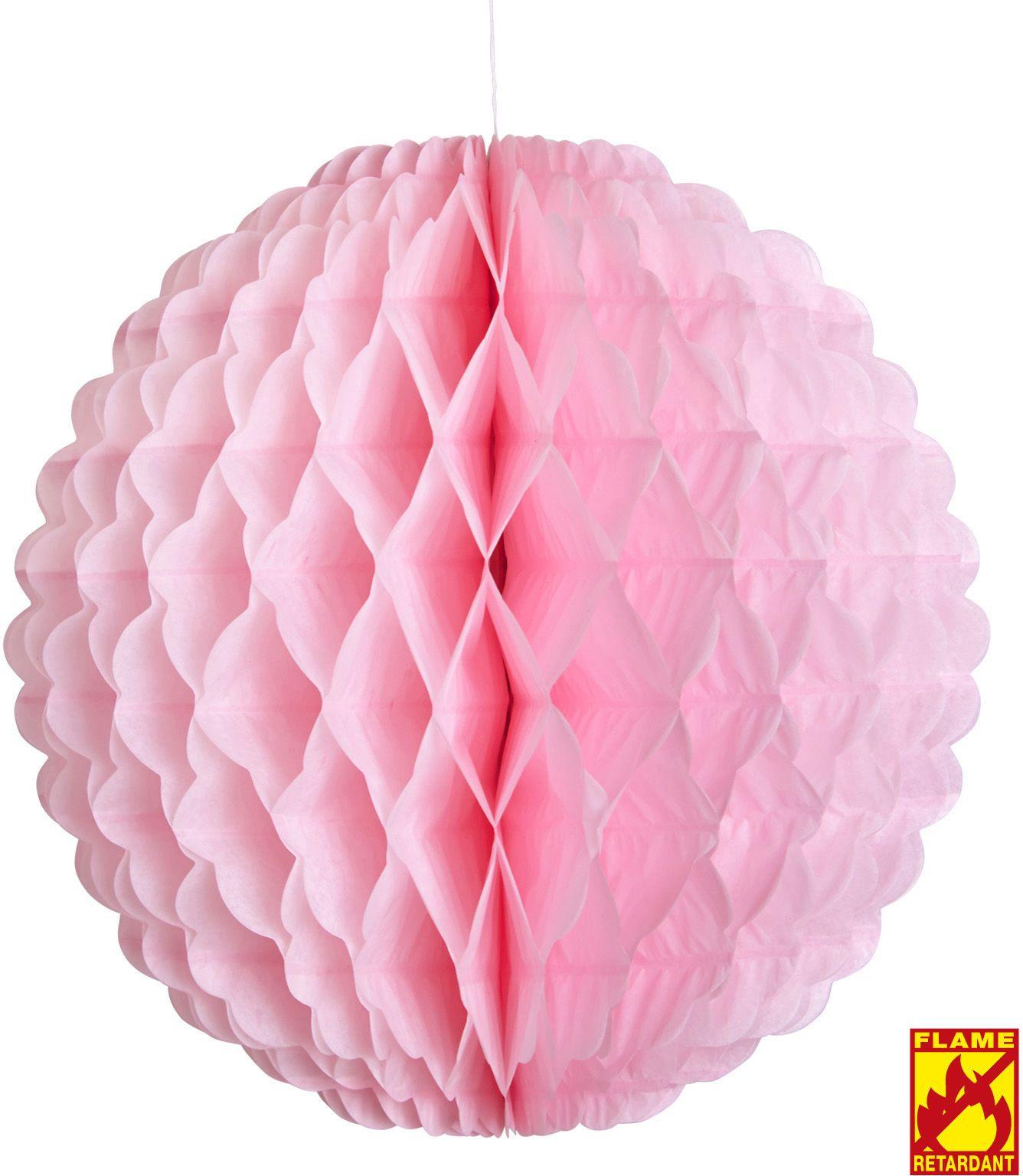 Honingraat bal roze