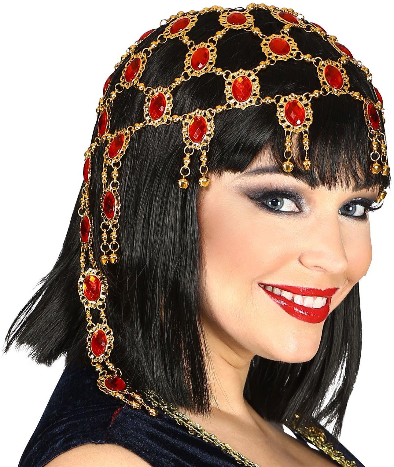 Hoofddeksel Egyptische juwelen