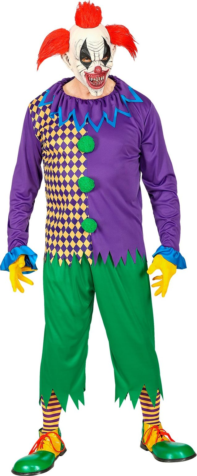 Horror clown kleding